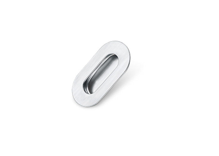 64/96/128mm Brushed Stainless Steel Door Handles No Pollution Anti - Oxidation