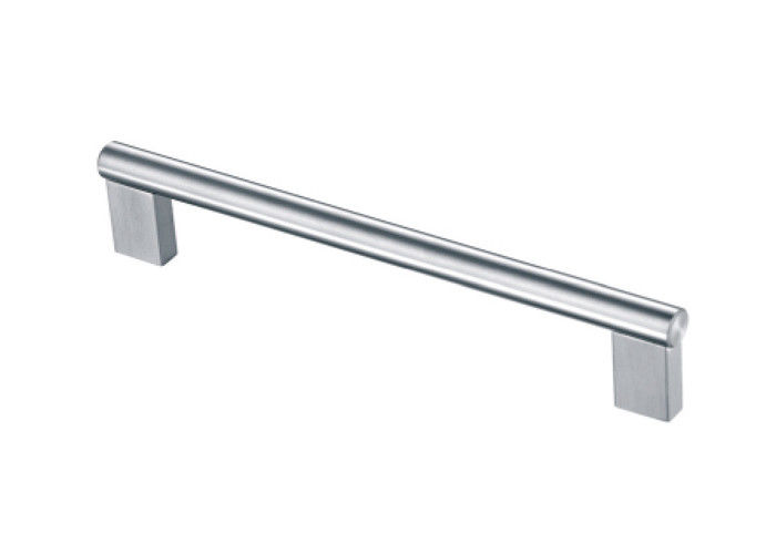 Furniture Stainless Steel Handles , Decoration Stainless Steel Cabinet Pulls 128*320mm